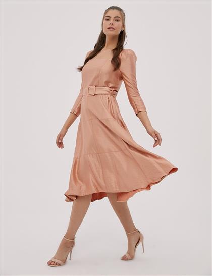 Elbise-Turuncu KA-B20-23072-34