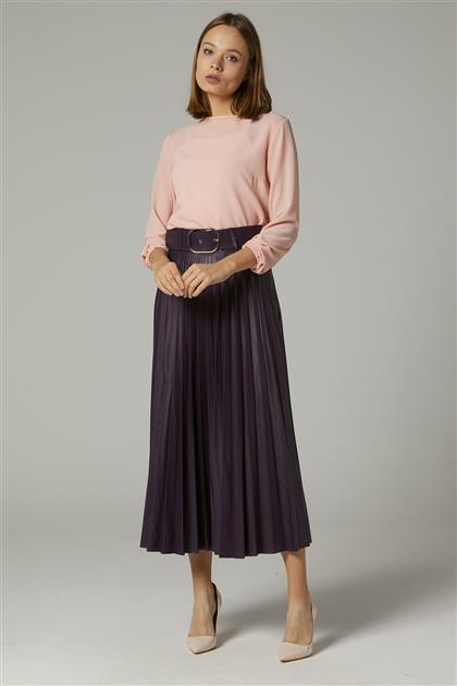 Skirt-Plum MS259-29