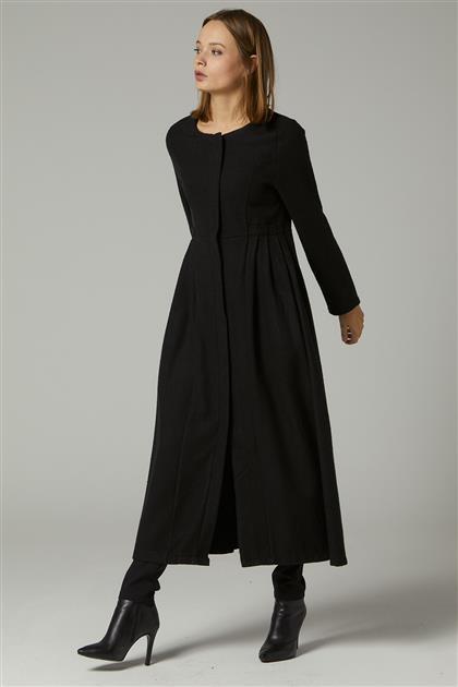 Coat-Black 2446F-01