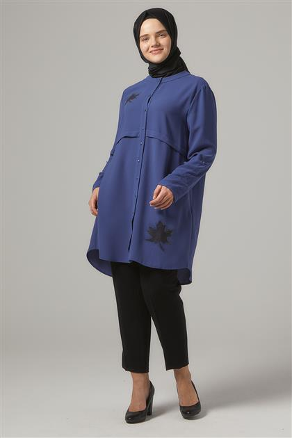 Tunic-İndigo DO-A9-61120-39