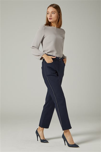 Pants-Navy Blue 3424-17