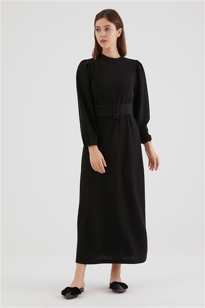 1797-01 فستان-أسود