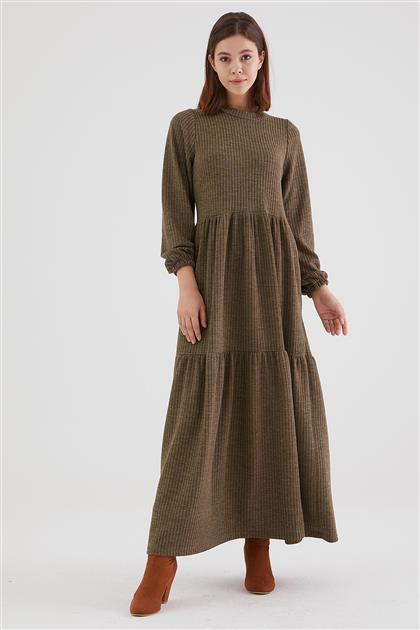 1980-21 فستان-أخضر