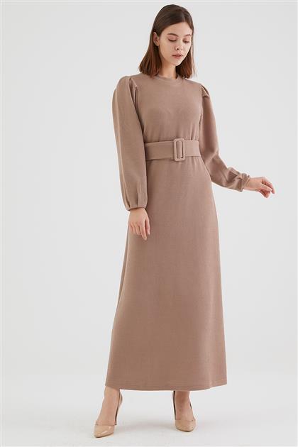 1797-11 فستان-بيج
