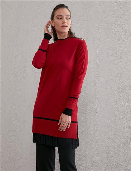Skirt Tunic Red A20 TRK45