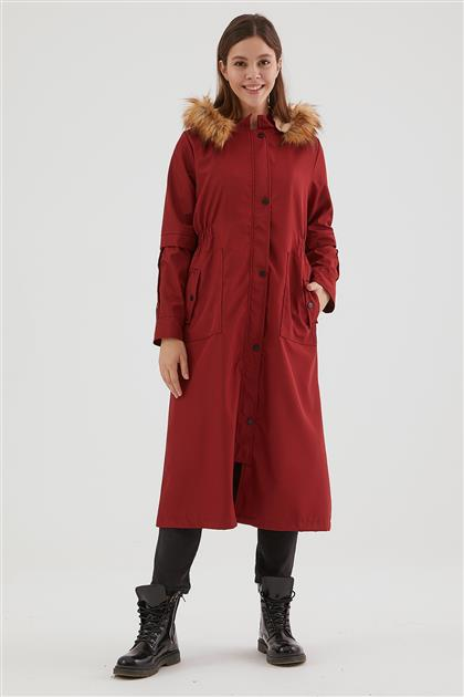 Coat-Claret Red UA-0W20203-67