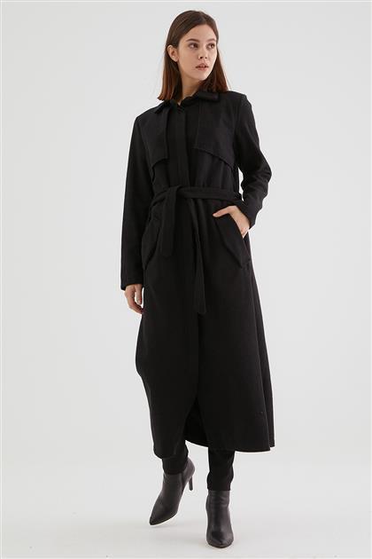 Coat-Black 2448F-01