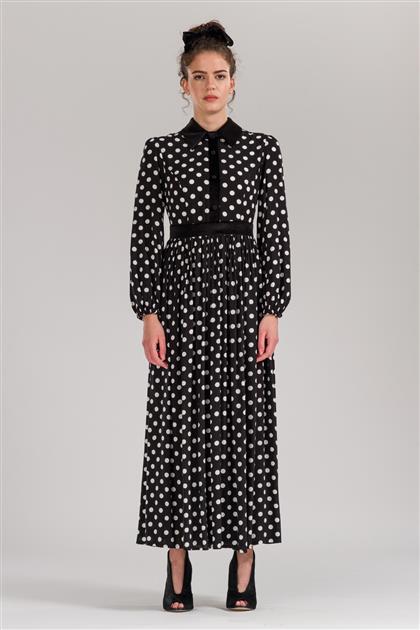 5081 - منقوشة فستان