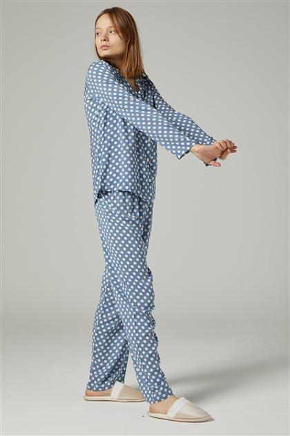 Pajama Set-Baby Blue 1037-118