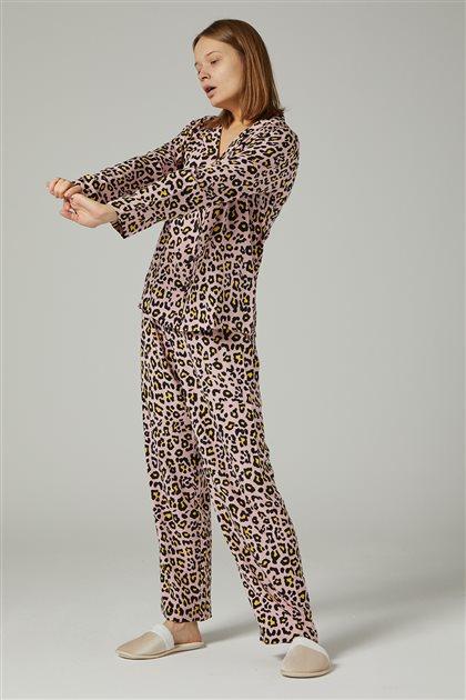 Pajama Set-Pink 1035-42