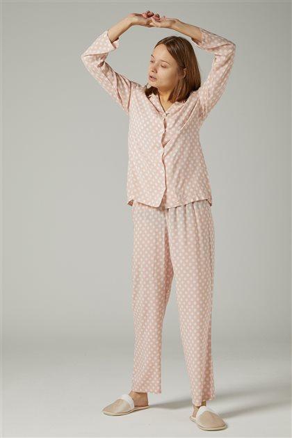 Pajama Set-Pink 1036-42