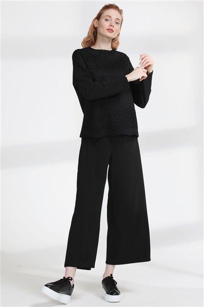 Pantolon-Siyah 19Y4143-01