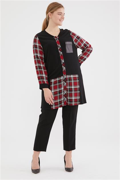 Tunic-Claret Red 1018-67