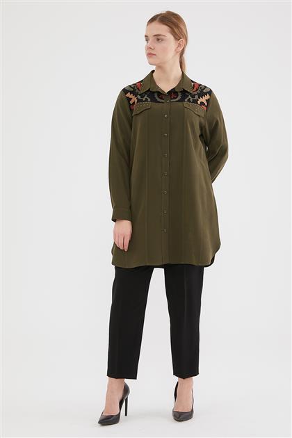 Shirt-Khaki 6088-27