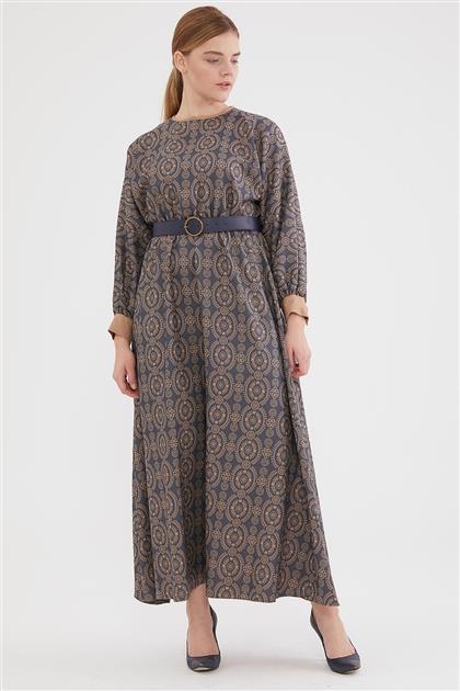 1937-83 فستان-نيلي