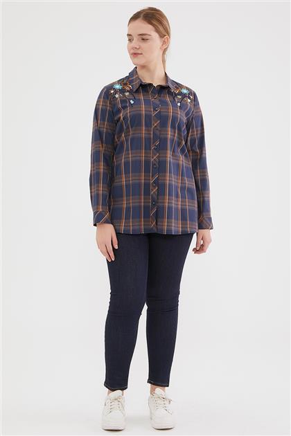 Shirt-Navy Blue 6023-17