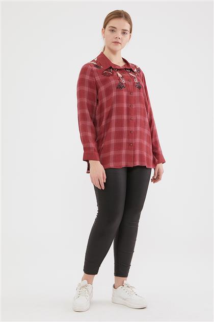 Shirt-Claret Red 1016-67