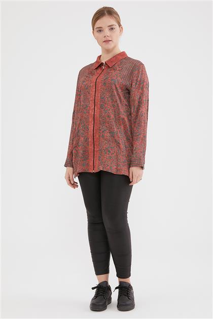 Shirt-Orange 6054-157