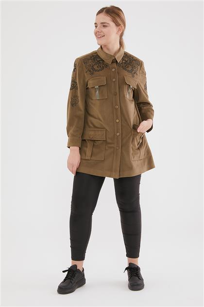 Coat-Khaki 6505-27
