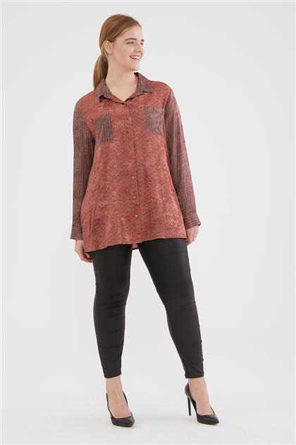 Shirt-Orange 6046-157