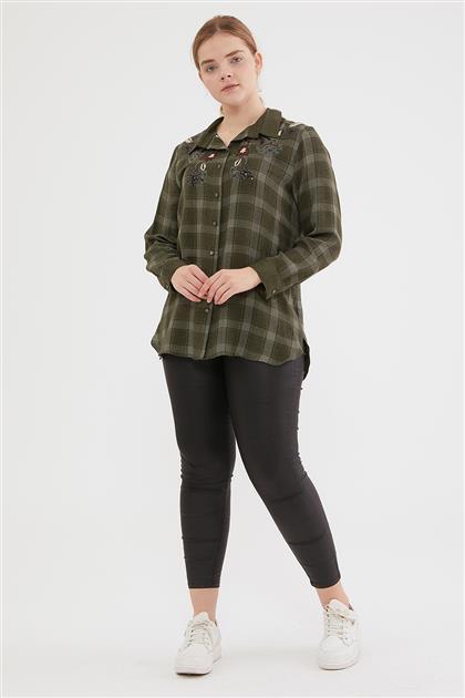 Shirt-Khaki 1016-27