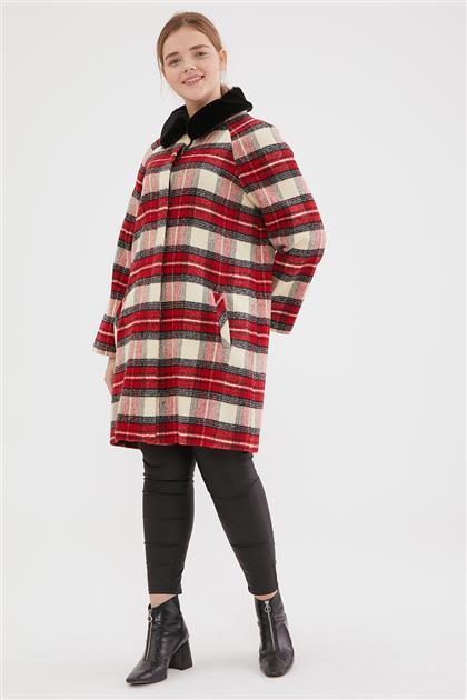 Coat-Red 6616-34