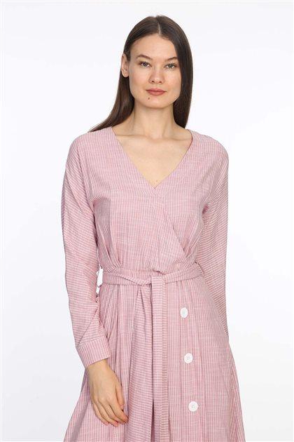 Elbise-Pembe 19Y5102-42