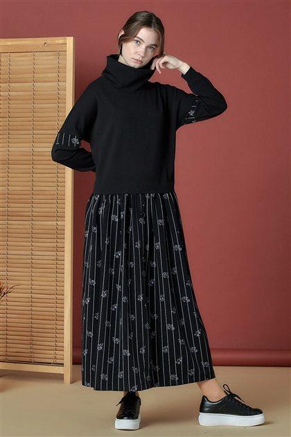 Elbise-Siyah 20K5114-01