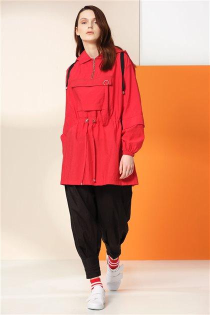 Sweatshirt-Kırmızı 20Y2506-34