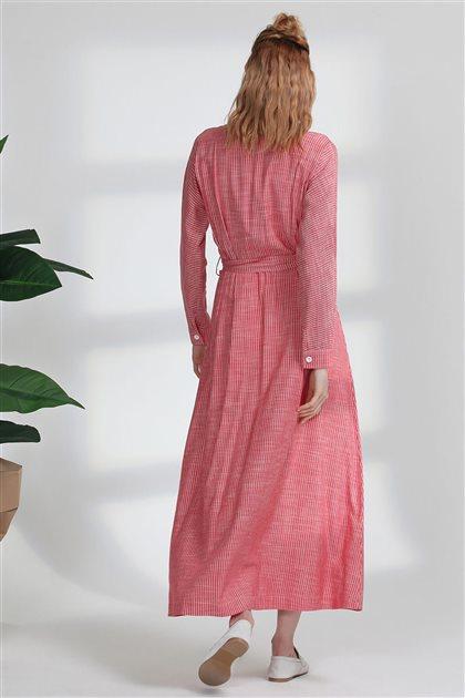 5102-34 فستان-أحمر