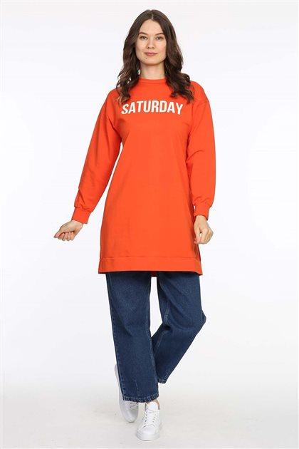 Sweatshirt-Turuncu 605-37