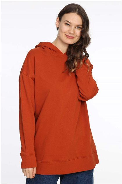 Sweatshirt-Turuncu 613-37