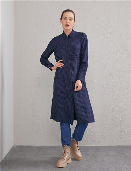 Tunic-Navy Blue KY-A20-81577-11