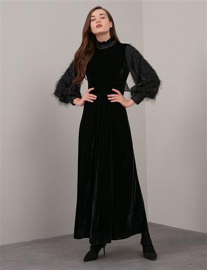 Elbise-Siyah KA-A20-23130-12