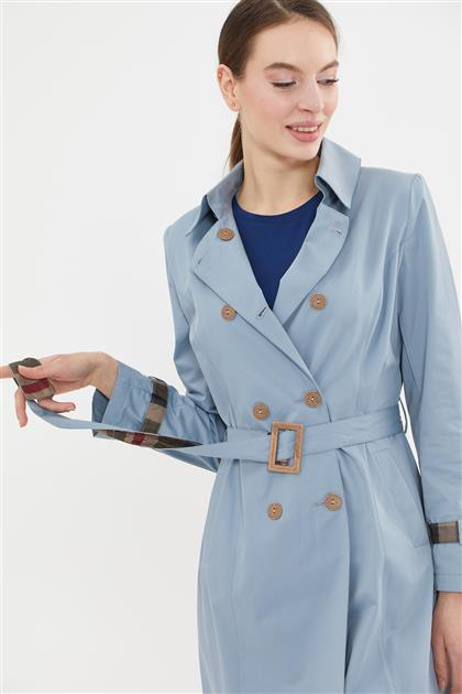 Trench Coat-Blue 425-70