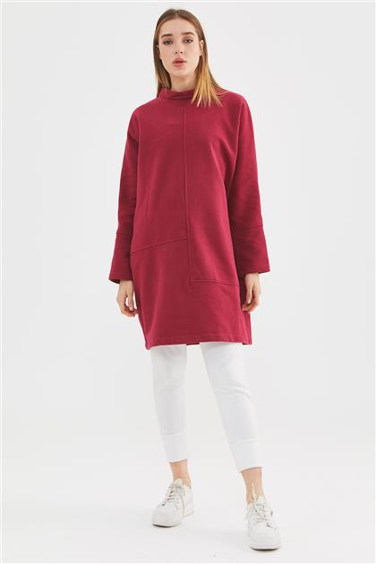Sweatshirt-Bordo 602-67