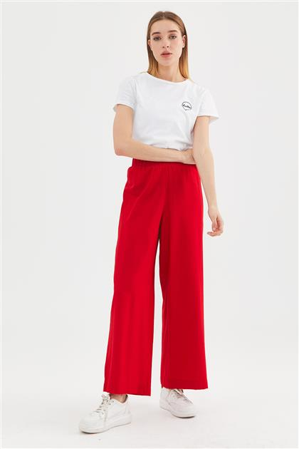 Pants-Red 9090-34