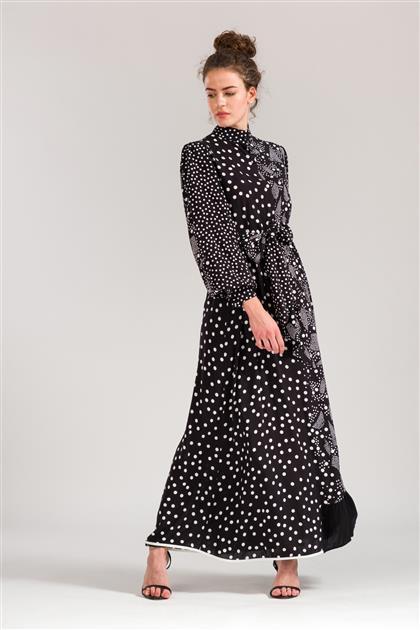 5086 - منقوشة فستان