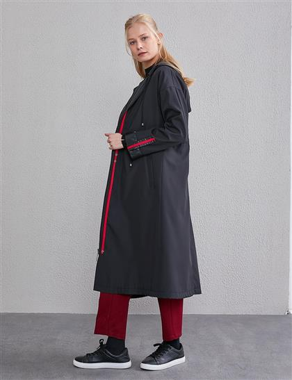 Trench Coat Black A20 14025
