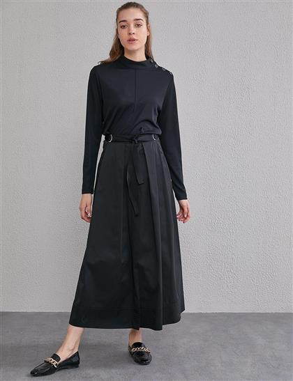Skirt-Black KA-A20-12041-12