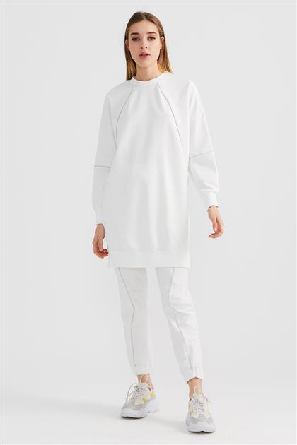 30496-52 تونيك-أبيض
