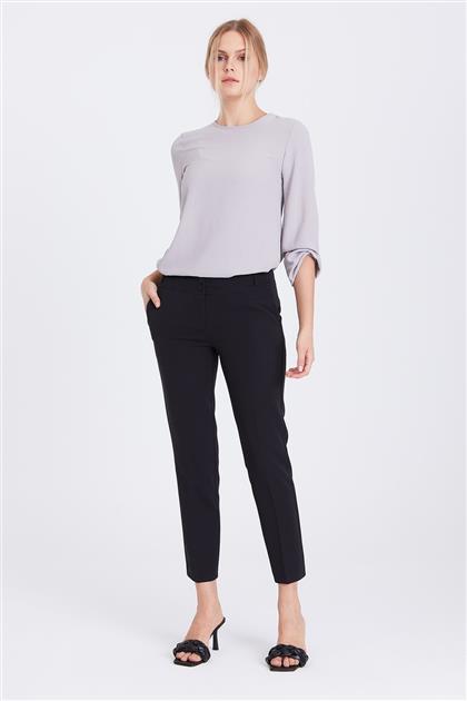 Slim Fit Esnek Kumaşlı Pantolon Siyah 20Y1011002 20Y1011002