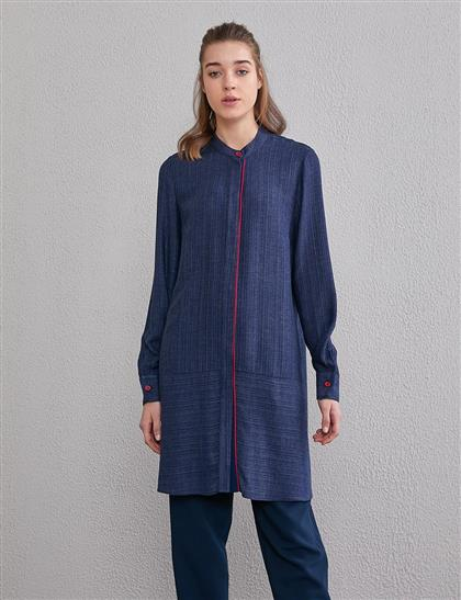 Tunic-Navy Blue KY-A20-81562-11