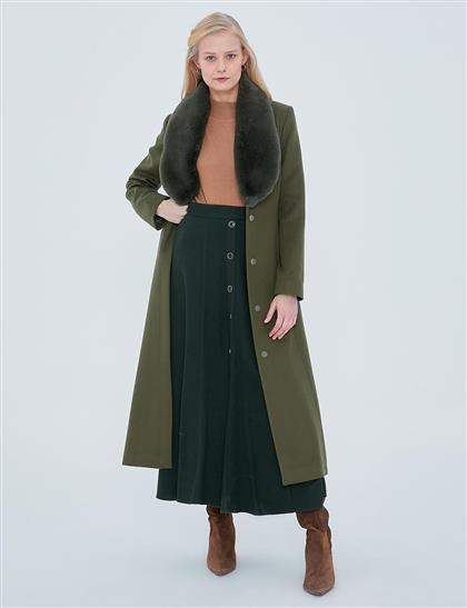 Coat-Khaki KA-A20-17015-21