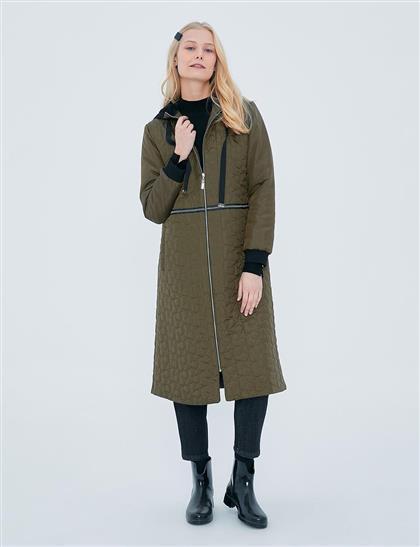 Coat-Khaki KY-A20-77002-21