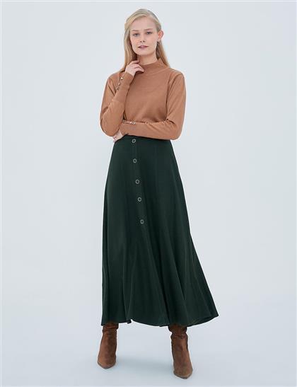 Skirt-Khaki KA-A20-12061-21