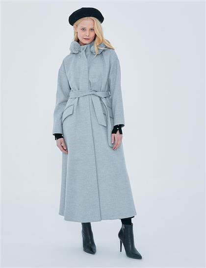 Coat-Gray KA-A20-17034-07