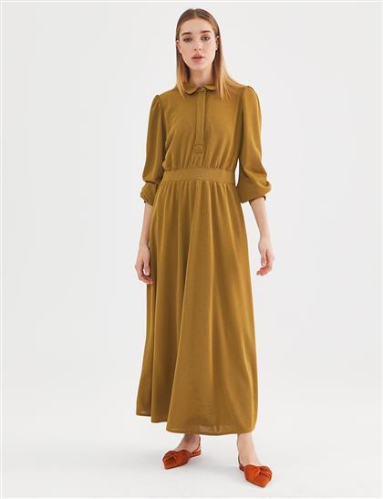 Dress-Olive KA-A20-23140-33
