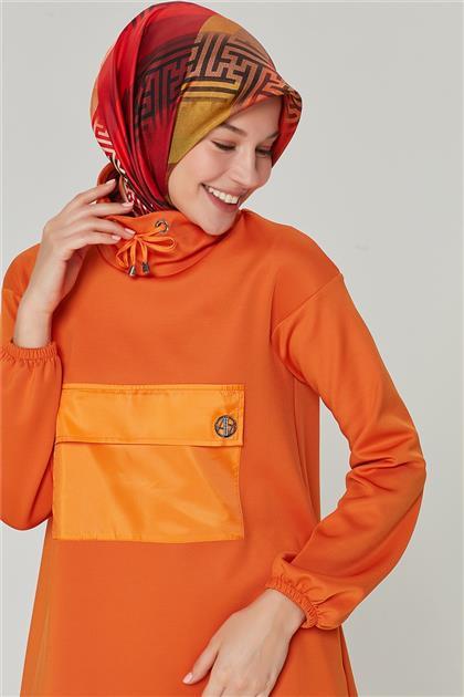 20K4338 Armine Tunik Oranj