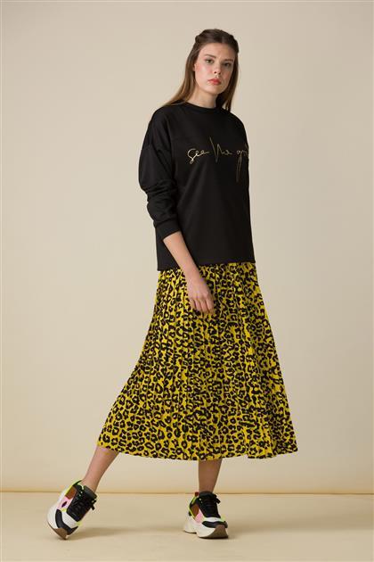 5034-Patterned Skirt